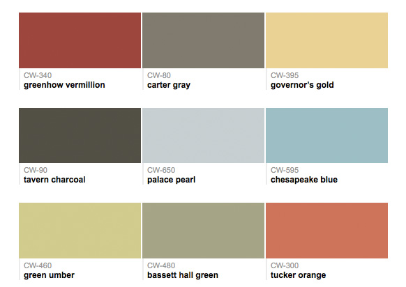 Welcome to benjamin moore tc your twin cities independent for Williamsburg colors